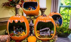 Home & Family - How-To - Cristina Crafts DIY Pumpkin Die-Oramas | Home & Family