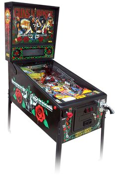 Pinball Machines | ... PRODUCTS Pinball Machines Guns N' Roses Pinball Machine - Pre-Played