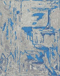 Waterloo Ink #1 {rugs, carpets, modern, home collection, decor, residential, commercial, hospitality, warp & weft}