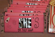 HerSHEys Baby Shower party favors
