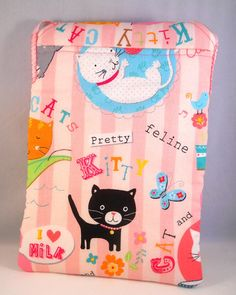 Cat Kindle Fire Case Cute Kindle Fire Case for by foreverandrea, $30.00 Kindle Fire HD Sleeve with handle for cat lovers tweens and teens