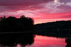 Title:  Cloudy Sunset   Artist:  Dave Files   Medium:  Photograph - Photographs