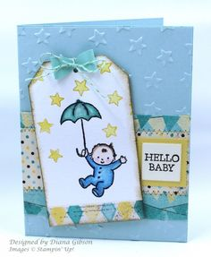 Spring Baby Card CCREW417SIP Step-It-Up Challenge