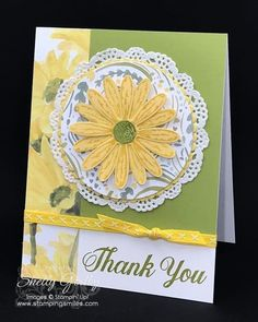 With just a couple of small tweaks, my Stampin' Up! Daisy Delight card went from okay to O-KAY! Watch my Daisy Delight card tutorial now.