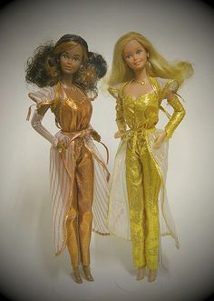 1980 Golden Dream Christie & Barbie by orange-joule, via Flickr #Barbie I LOVED MY Golden Dream Christie!!!!!