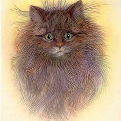 Cat+Painting+by+Elle+Tikerpae