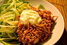Pulled Chicken - mexican style