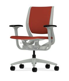 Making yourself comfortable in Purpose is as easy as taking your seat. Learn more at http://www.hon.com/Purpose #office