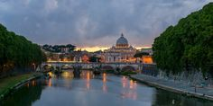 Canvas Photo Print  Rome  St. Peter di Edicom su Etsy