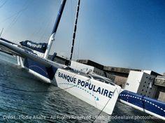 Le Maxi BP VII attendu ce jeudi à La Ciotat ! @ E Allaire #sail #sailingday #bsm #Lorient #sailboat | www.scanvoile.com