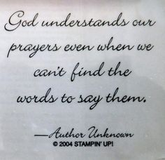 Stampin Up Words of Wisdom God Understand Inspirational Bible Verse Card Scrap | eBay