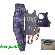 Liquido Butterfly by itsabratslife on Polyvore featuring Spiritual Gangster and NIKE