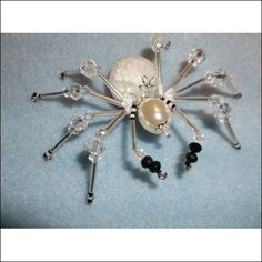 Beaded Spider - Ice Queen (Item number: 96, End Time : Aug. 23, 2014 02:36:10) - Witchy Wares Auctions Starting at $15