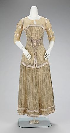 Afternoon dress Paquin 1909