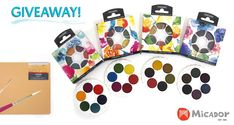 Micador For Artists Watercolour Art Supplies Giveaway! Giveaway, Traffic Congestion, Art Challenge, Drawing Challenge, Advertising And Promotion, Art Courses, Watercolor Sketch, Four Seasons, Art Supplies