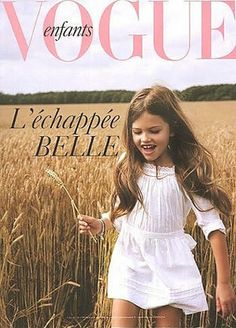 I want to be this controversial 10 year old when I grow up.        Thylane Loubry Blondeau.