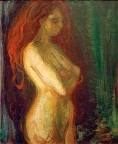 Edvard Munch - Aktstudie Who knew? Edvard Munch, William Turner, Vintage Poster, Vintage Artwork, Wassily Kandinsky, Gustav Klimt, Art Graphique, Rembrandt, Life Drawing