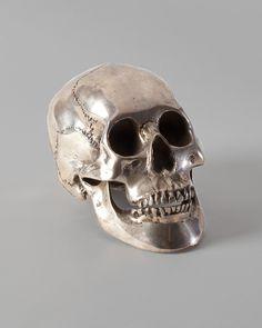 Decorative Silver Skull