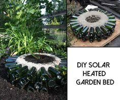 DIY Solar Heated Garden Bed