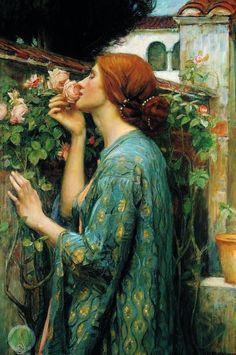 John William Waterhouse - The soul of the Rose by John William Waterhouse, 1908