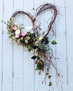 A silver birch heart dressed with seasonal spring flowers and foliage for an April wedding. by Tuckshop Flowers, Birmingham wedding fall ideas / april wedding / wedding color pallets / fall wedding schemes / fall wedding colors november Wedding Wreaths, Wedding Flowers, Wedding Decorations, Spring Decorations, Wedding Heart Wreath, Wedding Dresses, Bridesmaid Gowns, Outdoor Decorations, Heart Decorations