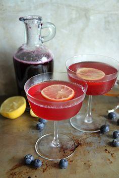 Blueberry Honey Vodka Lemonade