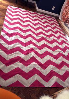 Love this - Custom Handpainted Canvas Floor Cloths by RandRDesignworks on Etsy,