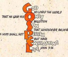 John 3:16 acrostic