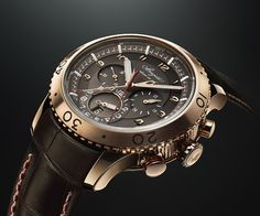 La Cote des Montres : La montre Breguet Type XXII 3880 Or rose - Premier chronographe de série avec fréquence de 10 Hz - nouvelle version en or rose