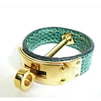 Hermes Scarf Ring - Kelly Charm.