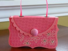 Stampin' Up!  Top Note Purse  Sheila Batty