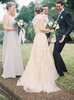 beautiful blush wedding gown Find the perfect wedding Dress! Perfect Wedding, Dream Wedding, Wedding Music, Perfect Bride, Wedding Fonts, Wedding Gold, Gatsby Wedding, Orange Wedding, Wedding Bride