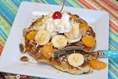 Paradise Pancakes ~ http://www.southernplate.com