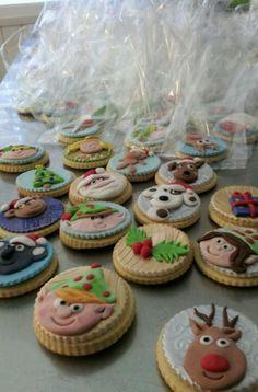 christmas cookies -- pretty!