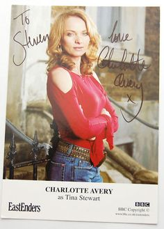 Autograph fro your favorite soap star. 10 Points to the most detailed answer:D?