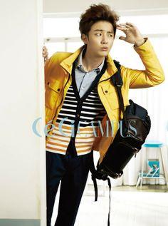 Flower boy next door Yoon Shi-yoon for CeCi » Dramabeans » Deconstructing korean dramas and kpop culture