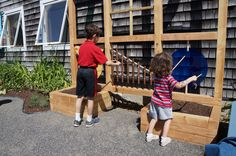 Outdoors at the Coastal Children's Museum