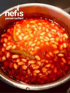 White Beans with Milk (Without Splitting) – Delicious Recipes - Rezepte Turkish Recipes, Ethnic Recipes, Turkish Kitchen, Pasta, White Beans, Chana Masala, Cookie Recipes, Milk Recipes, Dinner Recipes