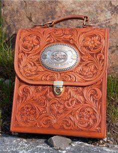 Trophy buckle purse