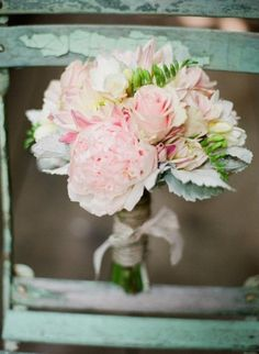 #Ramo rosita y verde menta / Blush & Mint #Bouquet