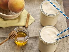 All the delicious flavor of a peach pie delivered through a straw (but much healthier for you!).