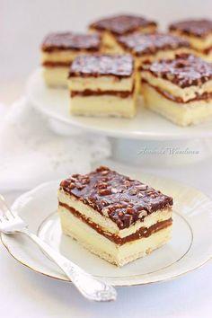 Arabeska : Ciasto Maxi King Cake Cookies, Cupcake Cakes, Cake Recipes, Dessert Recipes, Polish Recipes, No Bake Cake, Food Inspiration, Sweet Tooth, Bakery