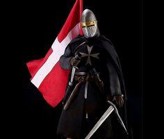 Crusader Warrior - Wall Tapestries - #Home #Decor #HomeDecor #WallDecor #WallTapestries #Tapestries #Gift #Giftideas #knight #templar #medieval #warrior #medievalage #templarknight #crusader