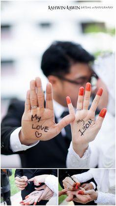 hand shot  make up | wardrobe | photo graphy by #kahwinkawinbridal #bridal #bride #sgbrides #makeup #mua #hairstyles #hairstyling #hairdo #photoshoot #photography #prewedding #outdoorshoot #ido #wedding #onceinalifetime #exclusive #fairytale #pengantin #moment #love #melayu #malay #weddingcard #weddingring #ring #memories #imam #palmshot #mylove
