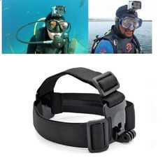 For Go pro Hero 5 4 Sport Cameras Adjustable Head Strap Mount Gopro Action Camera Accessories for Xiaomi Yi SJCAM SJ4000/SJ5000