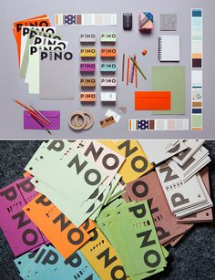 Love the identity design for Pino by Bond Agency.
