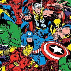 Superhero Plush Hooded Towel Marvel Comics by inkydinkdesigns