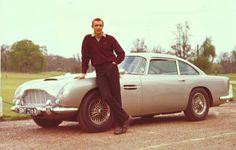 Austin Martin DB5 (with Sean Connery, AKA James Bond)