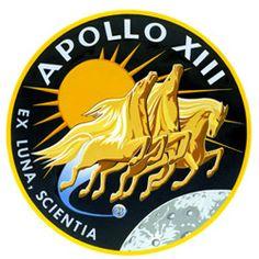 Apollo 13 badge