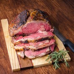 5.0 from 1 reviews   Perfect Smoked Barbecue Prime Rib Roast     Print     Prep time  30 mins    Cook time  4 hours    Total time  4 hours 30 mi